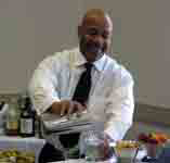 William Cobbin at Cleveland Bartending School