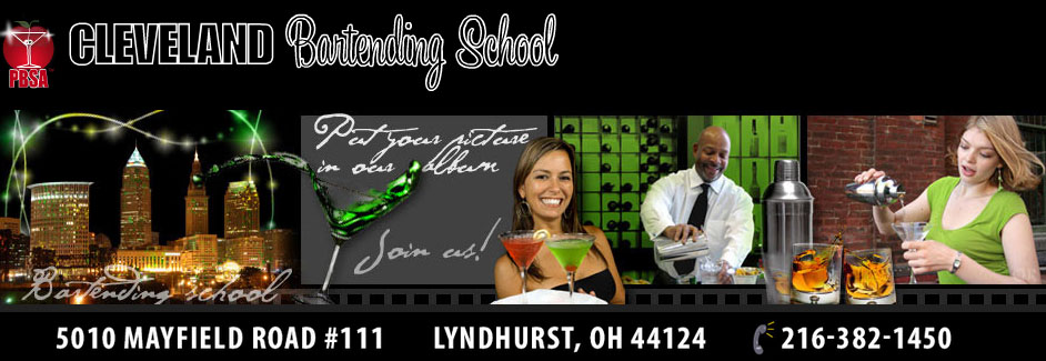 Cleveland Bartending School Go To Home Page