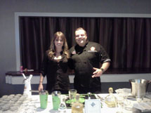 Molly & Rob at the Patron Tequila Tasting